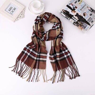 20 scarves discount pashmina men unisex plaid checked wholesale shawls 5