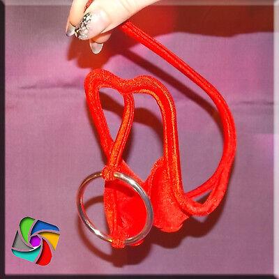 Sexy Men C-String Micro  Pouch Rot - Glitzer Model (29)