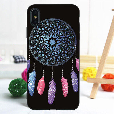 For iPhone 11 Pro XR XS Max SE 6S 7 8 Plus Case Silicone Painted Slim TPU Cover 10