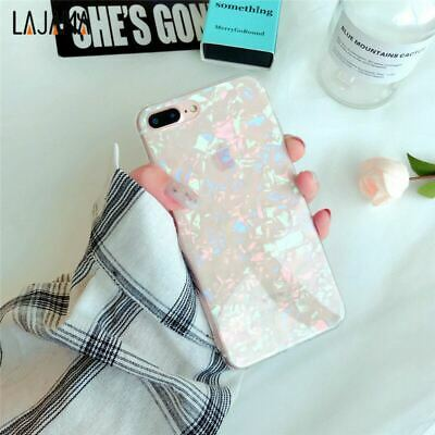 Case for iPhone XR XS MAX 8 7 6 6S Plus ShockProof Marble Phone Cover Silicone 7