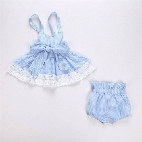 Toddler Kids Baby Girls Summer Lace Princess Dress Party Wedding Pageant Dresses