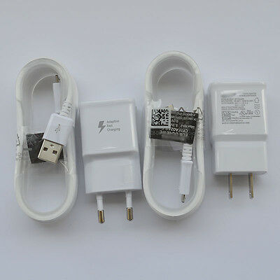 Original Adaptive Fast Wall Charger USB For Samsung galaxy S7 S6 Edge+ Note 5/4 7