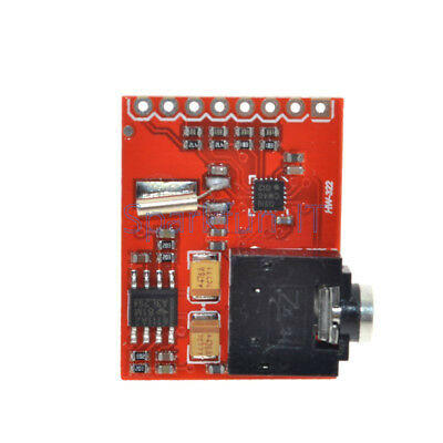 Si4703 RDS FM Radio Tuner Evaluation Breakout Board For Arduino AVR PIC ARM NEW 4