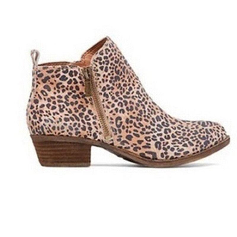 dfba88d20b4 WOMENS LADIES ANKLE Boots Low Mid Block Heels Chelsea Zip Up Shoes AU Size  4.5-9