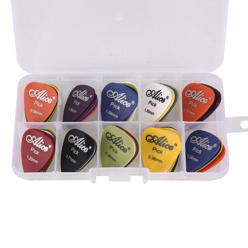 50 Pz/set Plettro pers chitarra elettrica Pick Musica acustica Plettri AccessoW 4