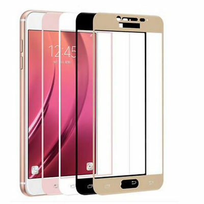 For Samsung Galaxy J3 J5 J7 2016/2017 Full Cover Tempered Glass Screen Protector 5