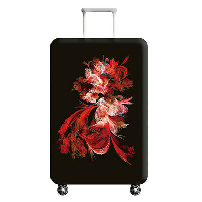 Printed Flamingo Suitcase Protective Cover Dust proof Travel Luggage Cover 18-32 5