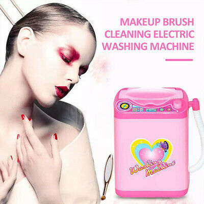 1Pc Cute Electric Cosmetic Powder Puff Washing Machine Makeup Brushes Cleaner 3