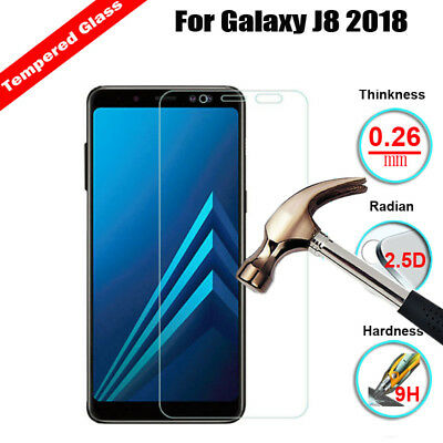 Tempered Glass Screen Protector For Samsung Galaxy J4 J6 J8  A9 A6  A6 Plus 2018 3