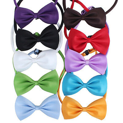 Adjustable Pet Bow Tie Various Colours - Cat, Dog, Rabbit & Puppy Clothes Collar 3