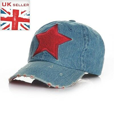 Sport jean brushed Star kids baseball sunhat cap Coffee STAR 2