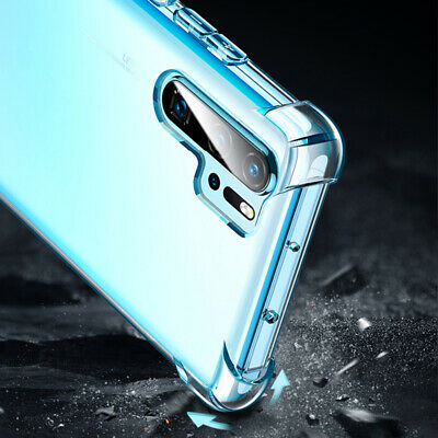 For Huawei P30 Pro Mate 20 Transparent Airbag Shockproof Silicone Case Cover 7