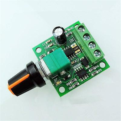 Ultra small dc 1 8v 3v 5v 6v 12v pwm mini motor speed for Small dc motor speed control