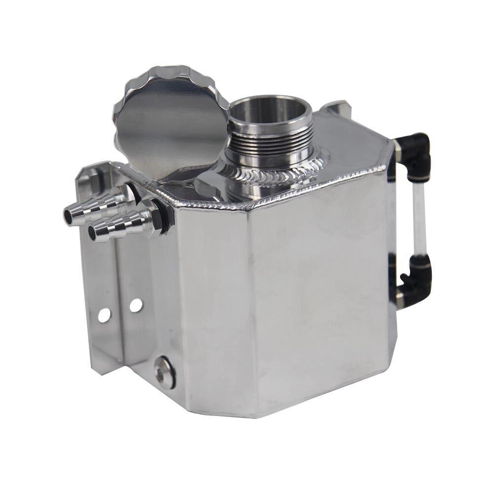 Universal 1L Coolant Radiator Overflow Recovery Water Tank  Aluminum Bottle AUS