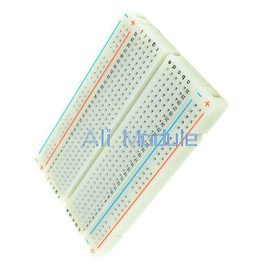 5 PCS Mini Universal Solderless Breadboard 400 Contacts Tie-points Available AM 4