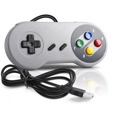 N64 / SNES / NES USB Wired Gaming Controller Pad Joystick For PC LAPTOP MAC 2