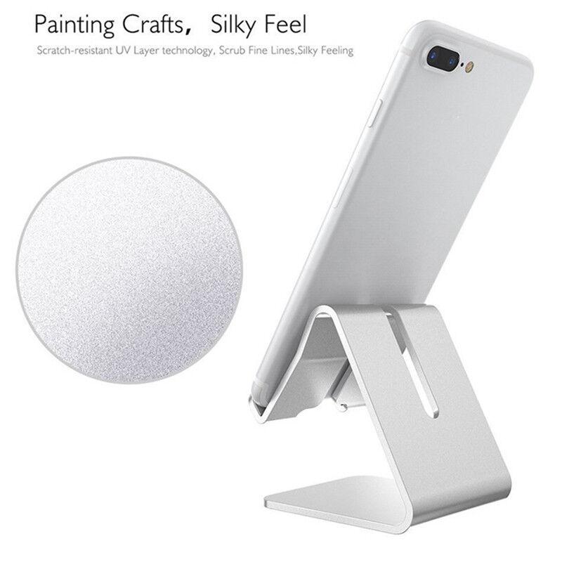 7 Of 11 Home Office Desk Desktop Phone Stand Aluminum Holder For Iphone Cellphone Tablet