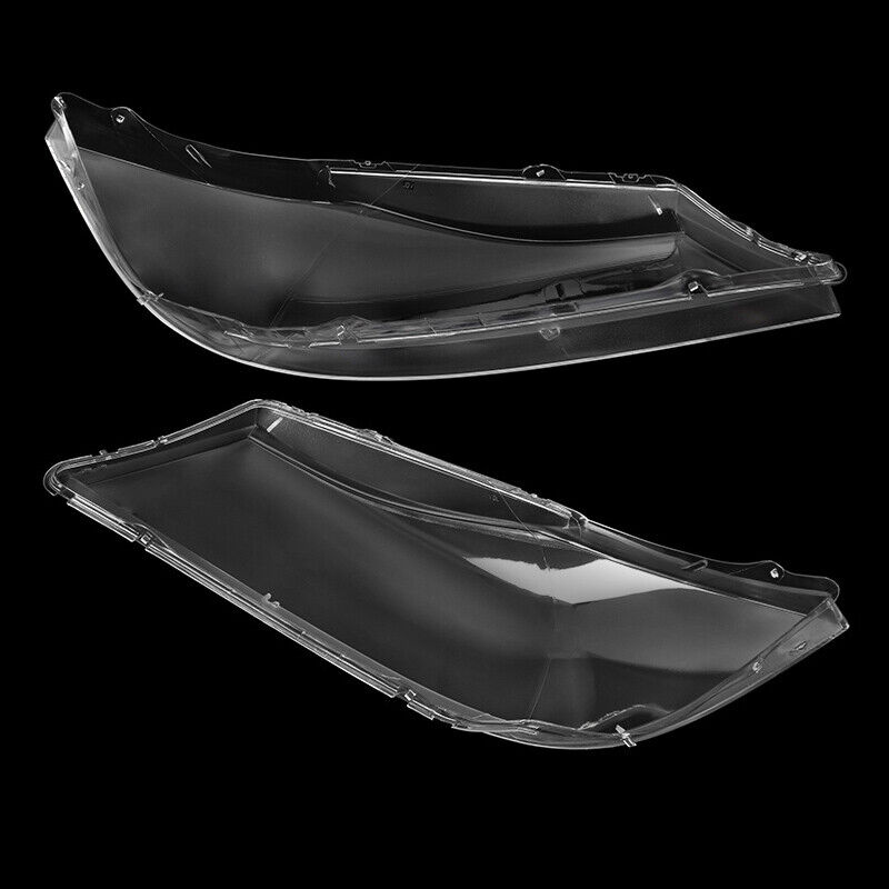 Pair Front Car Headlight Headlamp Plastic Clear Lens Cover For BMW E90//E91 05-08