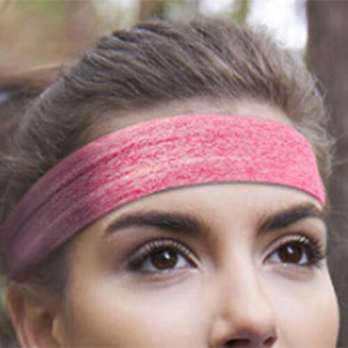 Unisex Cotton Sport Sweatband  Silicone Headband Yoga Gym Stretch Head Band 3