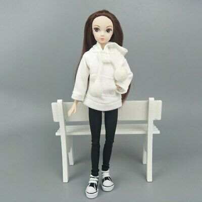 Fashion Doll Clothes Sweatshirt Coat For 11.5in. Doll Outfits Pants Shoes 1/6 11