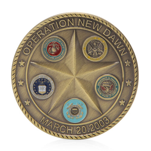 Operation Dawn Saint George Commemorative Coin Challenge Collection Souvenir 3