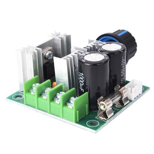 12V~40V 10A PWM DC Motor Speed Control Switch Controller Volt Regulator DimmerVN