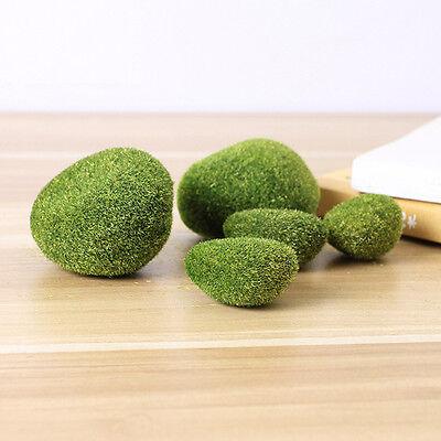 2PCs Green Moss Balls Aquarium Plants Java Shrimps nano Fish Tank Home New 3