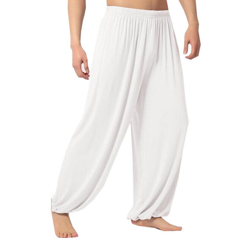 Womens Mens Harem Pants Yoga Festival Baggy Hippie Genie Alibaba Hareem Trouser 7