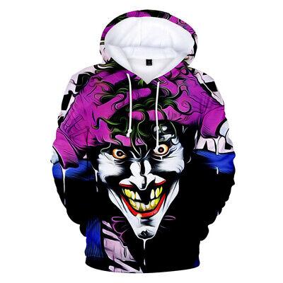 Hot COOL Joker Funny 3D print Hoodie Men Women Casual Sweatshirt Pullover Tops