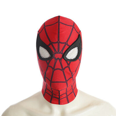 Spiderman Spider-Man:Homecoming Cosplay Costume Halloween full suit with shoes 7
