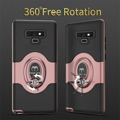 For Samsung Galaxy S9/S8/Plus/Note 9 Ring Holder Shockproof Armor Case Cover lot 5