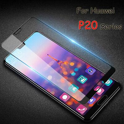 Huawei P20 verre trempé intégrale écran 100% couvert protection totale 4