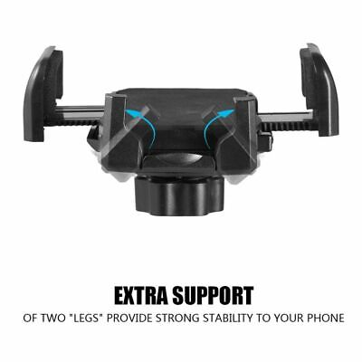 Universal Car Mount Adjustable Gooseneck Cup Holder Cradle for Cell Phone iPhone 5