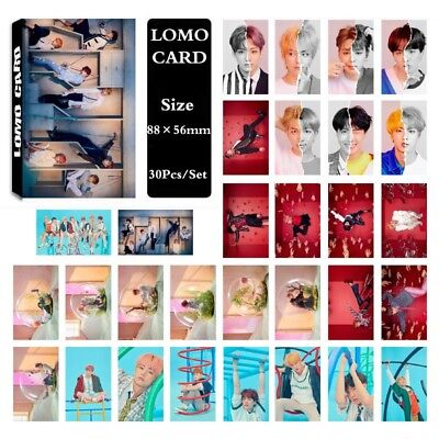 Lot of set KPOP Bangtan Boys Album Photocard Poster Lomo Card Photo Card 3