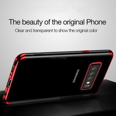COVER per Samsung Galaxy S10 /S10e/ S10 Plus CUSTODIA ORIGINALE Electro TPU Slim 11