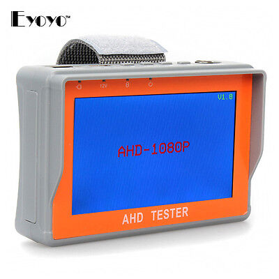 "Handheld Handgelenk 4,3 ""LCD 1920 * 1080 P AHD CCTV Kamera Test Monitor Tester"
