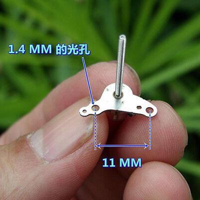 Nidec 2-phase 4-wire Mini 6mm Stepper Motor 17mm Long Shaft Linear Lead Screw 9