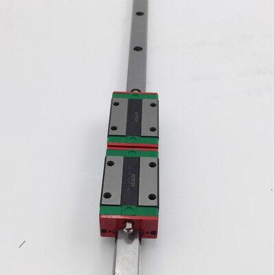 HIWIN HGR20 L-1500mm Linear Rail Guide HGH20CA HGW20CC Rail Block Carriage CNC 6