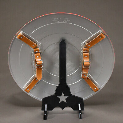 CATTOYS 2018 Version 1:1 The Avengers Captain America ABS Shield Repilica Prop 9 5