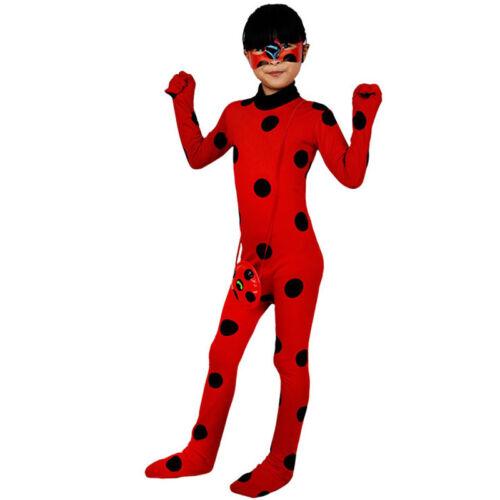 kinder der miraculous ladybug marinette kost m overall. Black Bedroom Furniture Sets. Home Design Ideas