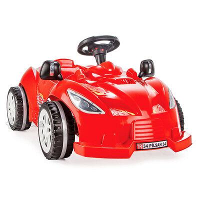 MACCHINA A PEDALI per bambini auto rossa cavalcabile go kart a pedali art.498 Baby