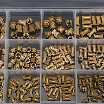 M2//M3//M4//M5 Molette Noix 330pcs Set Intégrée Fixation Outils Remplacement