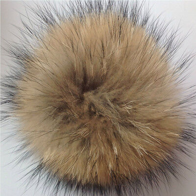 New Detachable Coloured Faux Fur Pom Poms For Hats And Clothes 3
