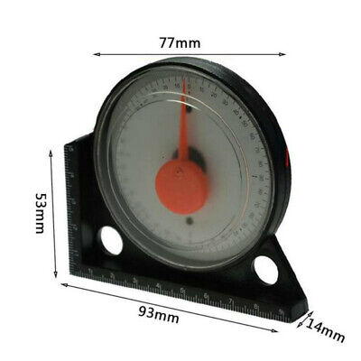 Slope Inclinometer Level Angle Finder Measuring Gauging Tools Magnetic Base Home 5