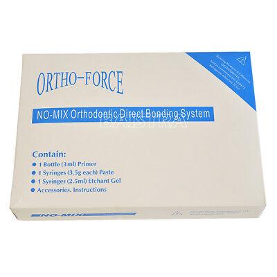 1 Pack Dental Orthodontic Adhensive No-Mix Direct Bonding System Mini Kit 6