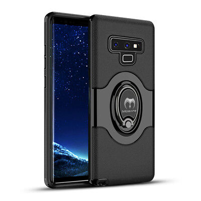 For Samsung Galaxy S9/S8/Plus/Note 9 Ring Holder Shockproof Armor Case Cover lot 6