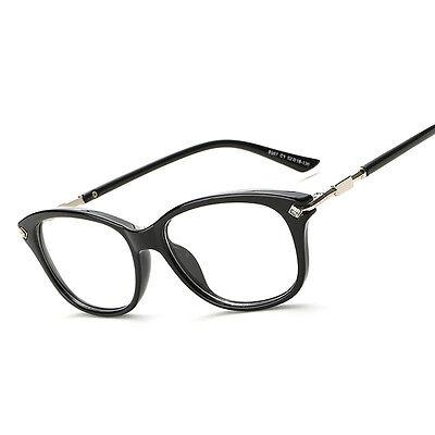 MEN\'S RETRO CLEAR Lens Myopia Glasses Frame Women Spectacles ...
