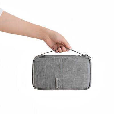 Travel Wallet Family Passport Holder Accessories Document Organizer Bag Case 3