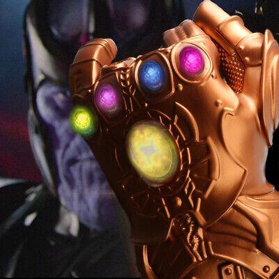 2019 Figure & LED Light Thanos Infinity Gauntlet Marvel Legends Gloves Avengers 4