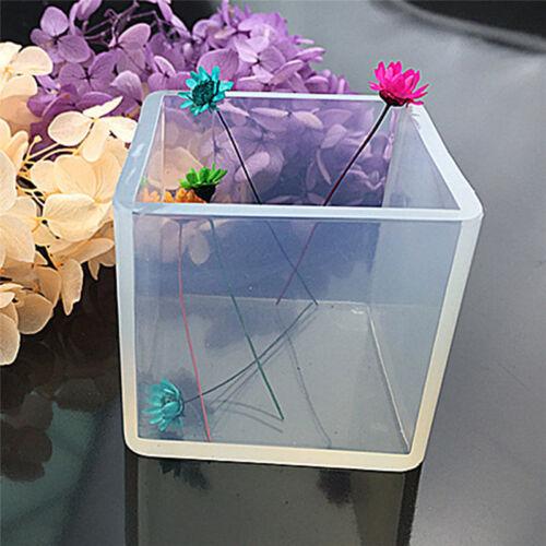 Silicone Pendentif Moule Bijoux Fabrication Cube Résine Casting Outild'Artisa FE 3